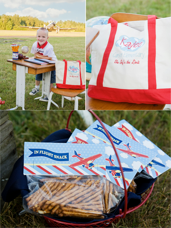 Little Aviator Airplane Inspired Birthday Party Ideas and Treats