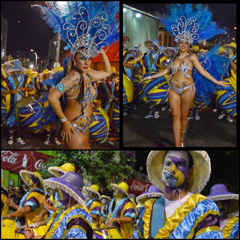 Carnaval. Desfile de Llamadas. La Dominó.
