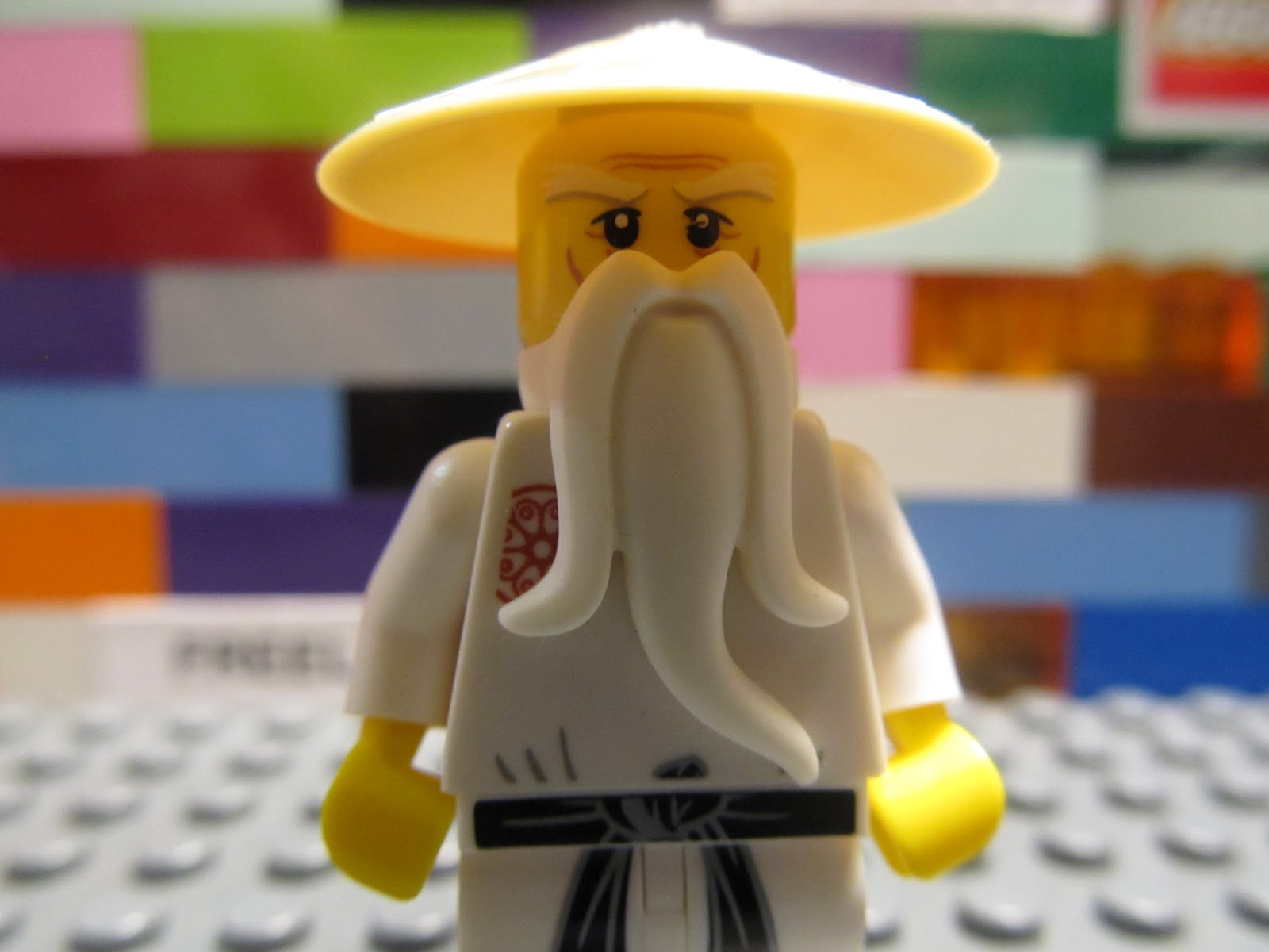 Lego 853101 ninjago master sensei wu minifigure ninja - Sensei ninjago ...