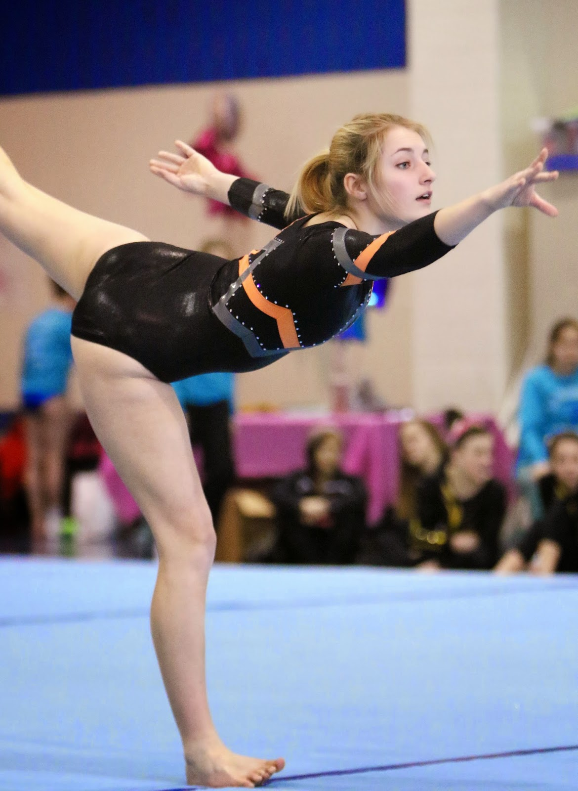 college of lake county gymnastics meet