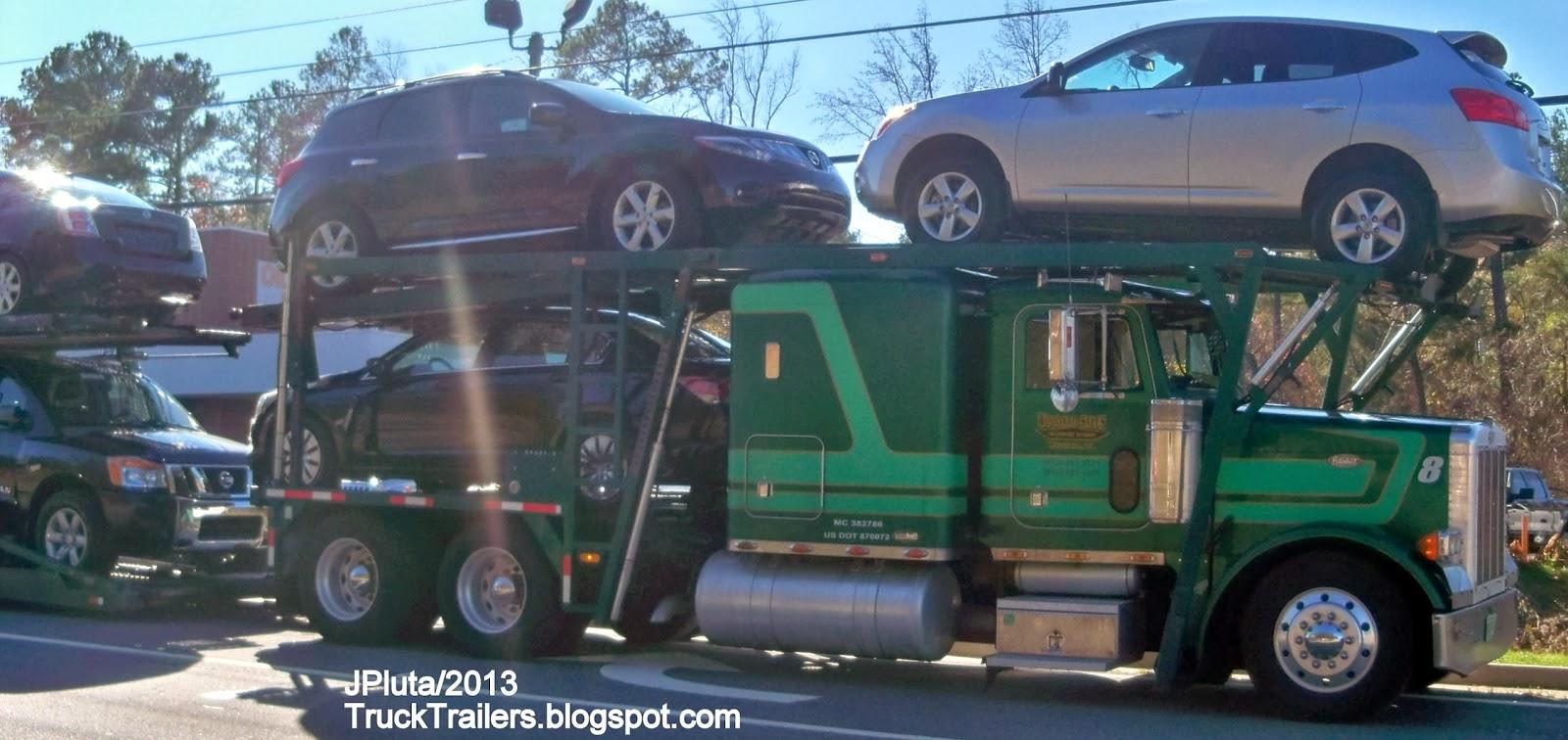 TRUCK TRAILER Transport Express Freight Logistic Diesel Mack ...