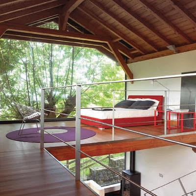 Decoraci n de dormitorios con vista al jard n decoracion for Cocinas con vista al jardin