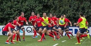 Formación de Los Pumas para jugar vs All Blacks