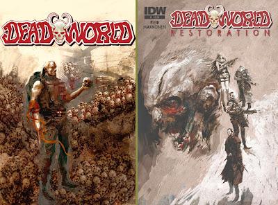 Deadworld Restoration: le cover