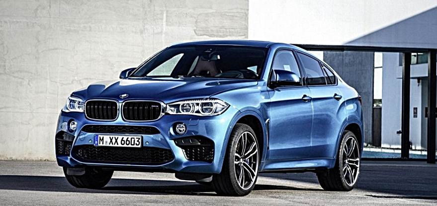 2017 Bmw X6 Blue 200 Interior And Exterior Images
