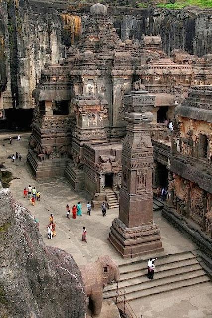 Ellora Caves, Maharashtra, India, tapandaola111
