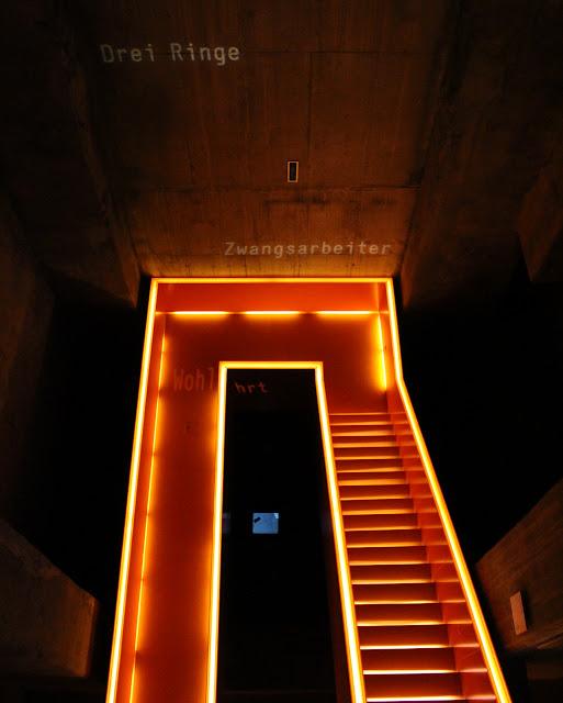 Leuchtende Treppe