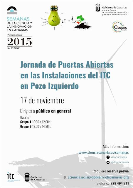 Jornadas Puertas Abiertas en las Instalaciones del ITC en Pozo Izquierdo