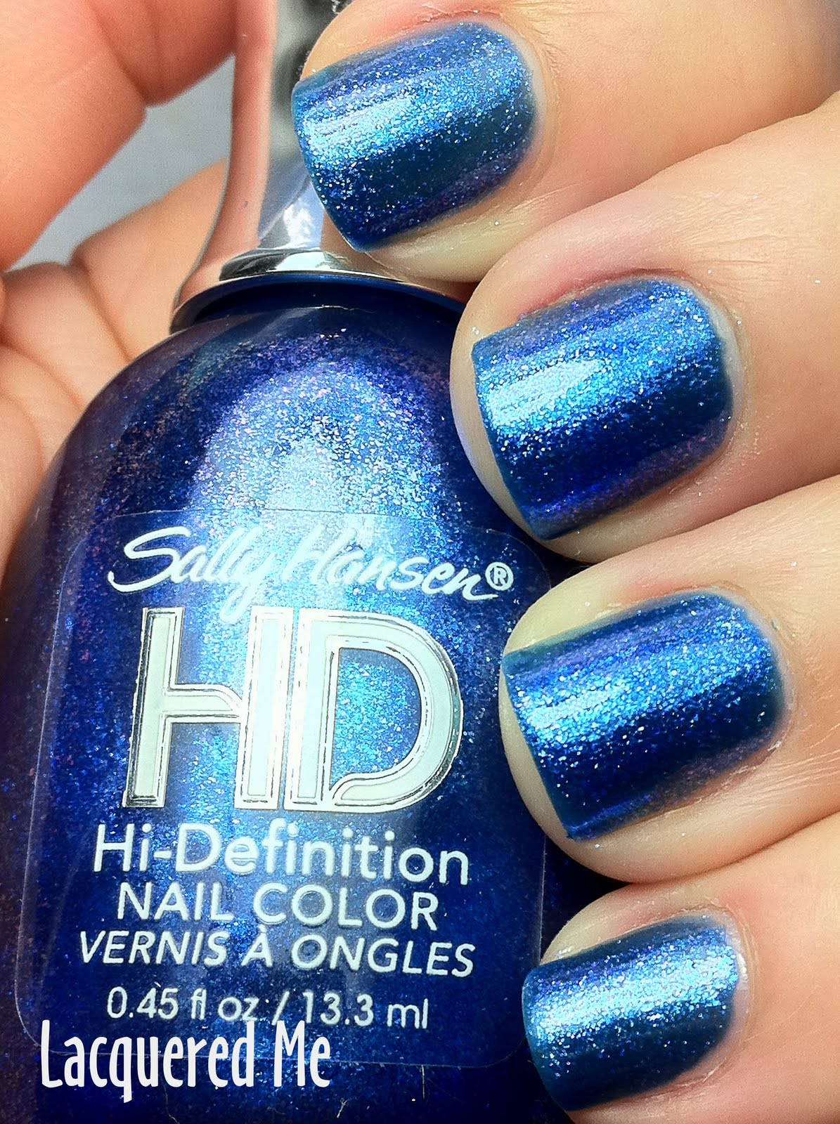 Lacquered Me: Sally Hansen HD High Definition Nail Color
