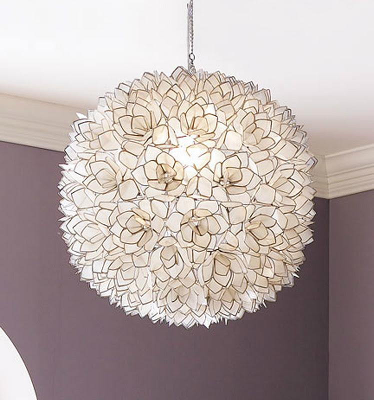 rg the shop library capiz shell pendant light. Black Bedroom Furniture Sets. Home Design Ideas