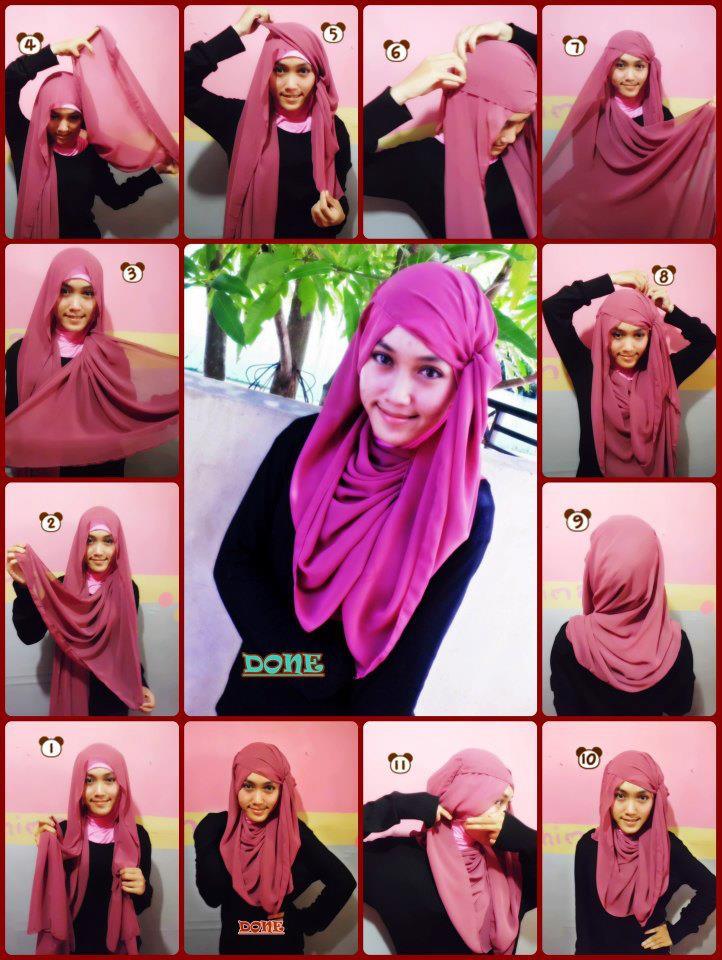 Kreasi Jilbab Pashmina Untuk Remaja Beauty And Style