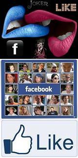 در فیسبوک همراه با جوکر