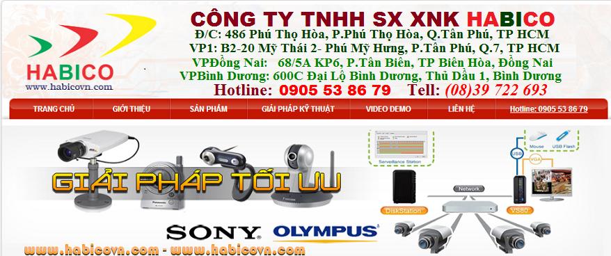 CONG TY CAMERA - CTY CAMERA QUAN SÁT - Công Ty Camera HỒ CHÍ MINH