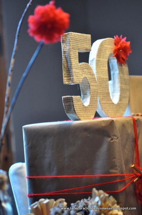 Fiestas de 50 a os decoraci n imagui - Decoracion para 50 cumpleanos ...