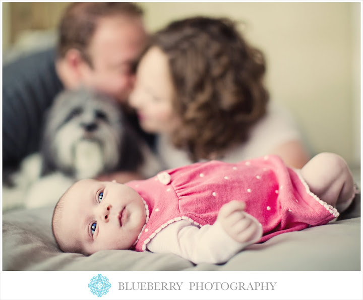 East Bay beautiful Newborn baby family photography session
