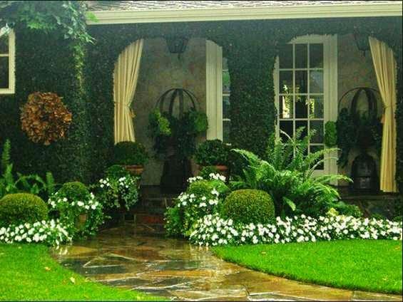 desain taman rumah minimalis 9