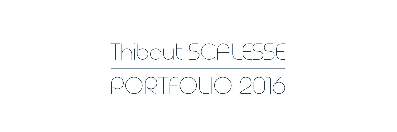 Portfolio 2015 // Thibaut Scalesse