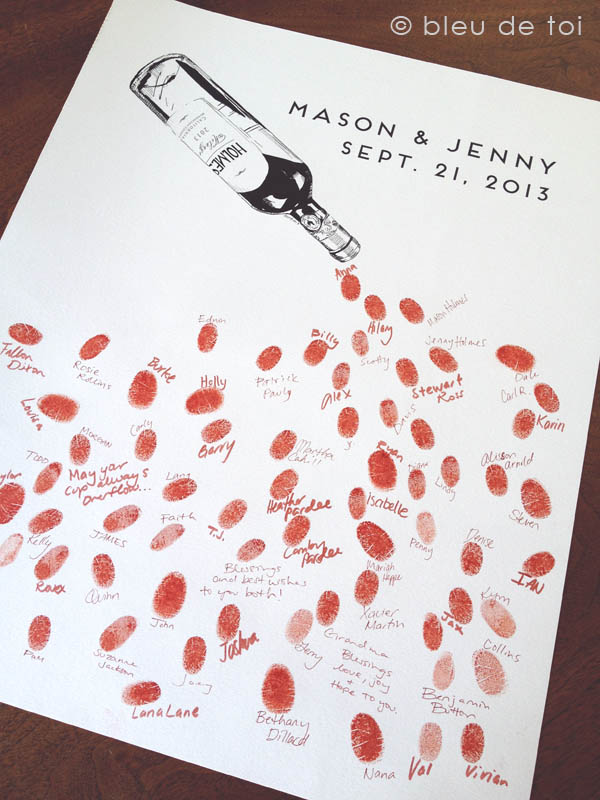 celebrate with vino the guestbook perfect for your vinyard wedding