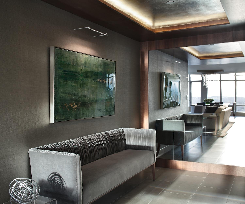 Art installation by Patricia Gray Interior Design.