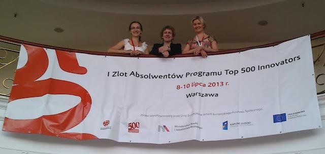 Pani konsul Ellen Germain i Creative Cracow (Mirosława M. Długosz i Weronika T. Adrian)