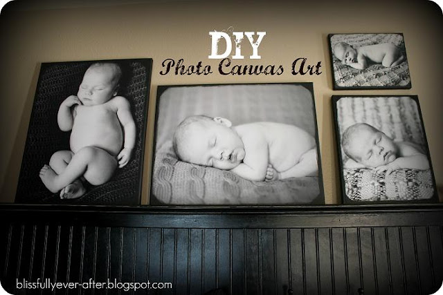 make your own photo canvas