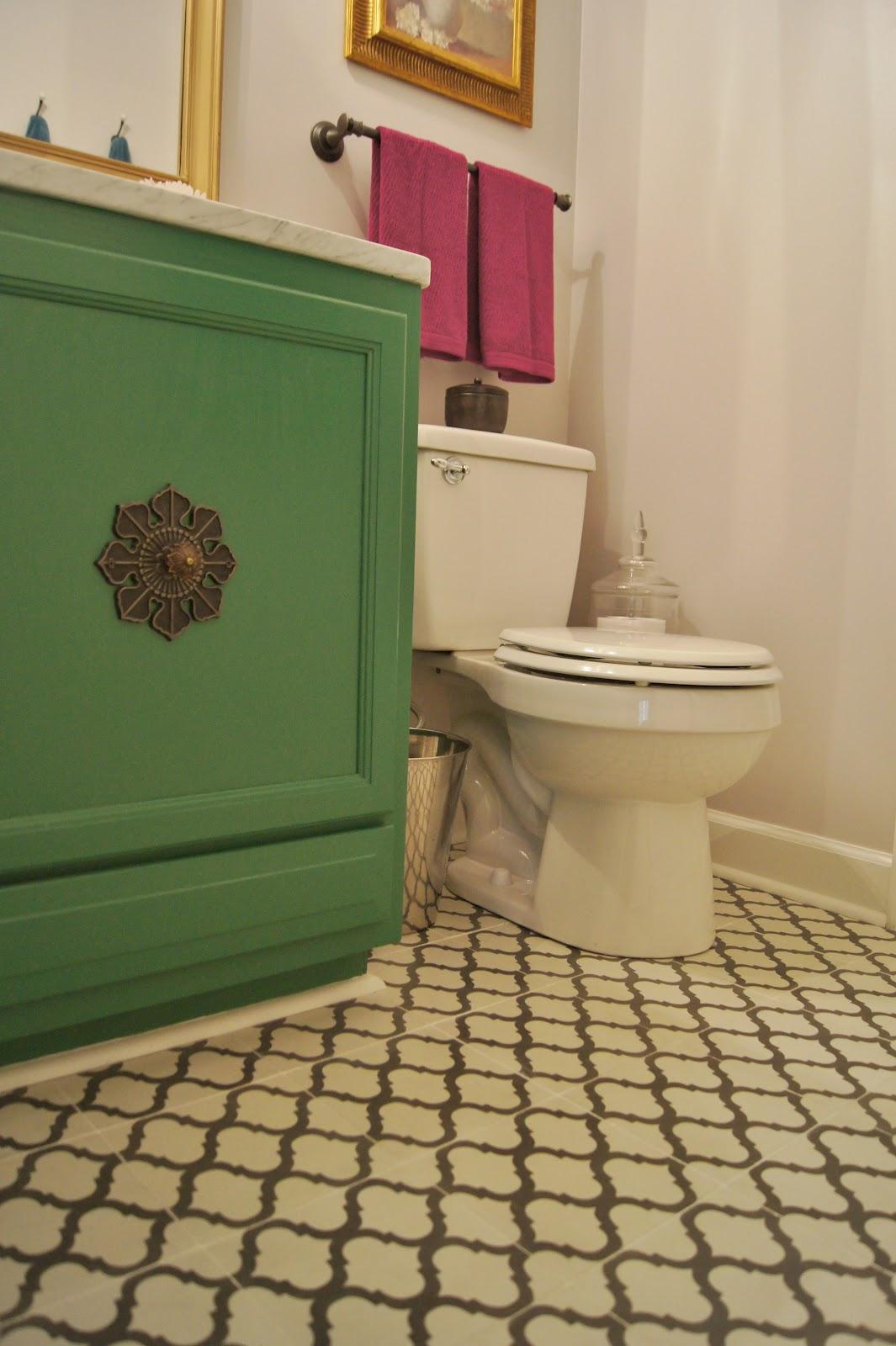 Meaningful home my house tour master bathroom Master bathroom tile floor