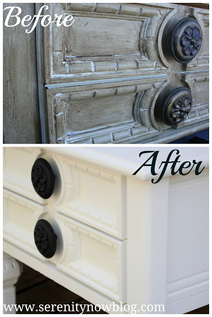 Thrift Store Furniture Makeover from Serenity Now