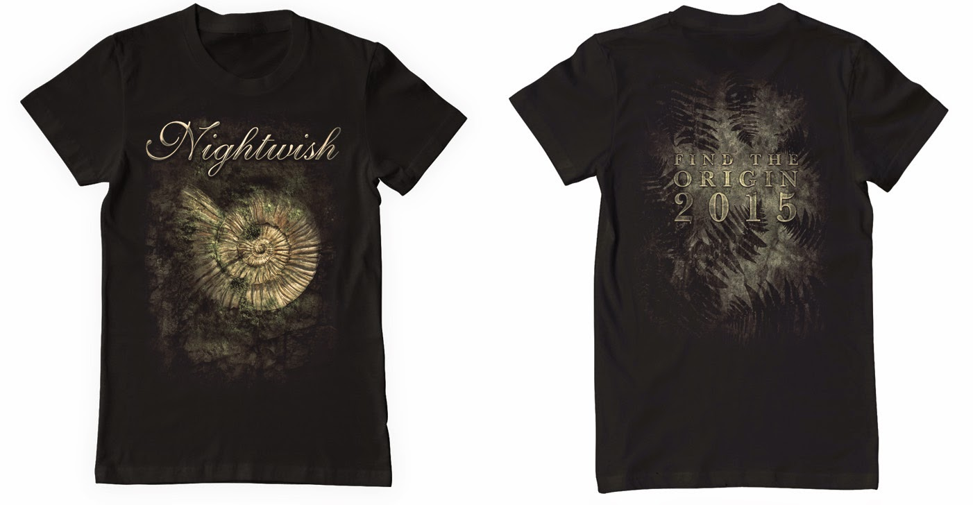 camisetas nightwish find the origin mi etereo mausoleo