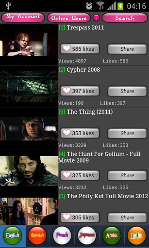 MovieTube (Full) v2.1.3 Apk App