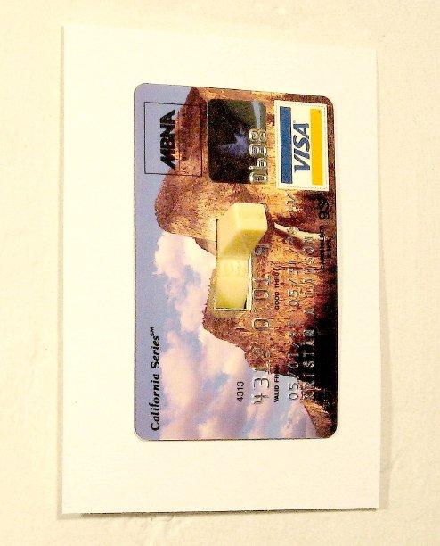 ของเหลือใช้ ทำจากบัตร Atm บัตรเครดิต เครดิตการ์ด สิ่งประดิษฐ์ ของใช้แล้ว