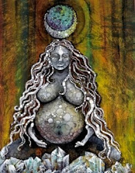 EarthMother Birth Goddess by Omra Fochtman-Kubby