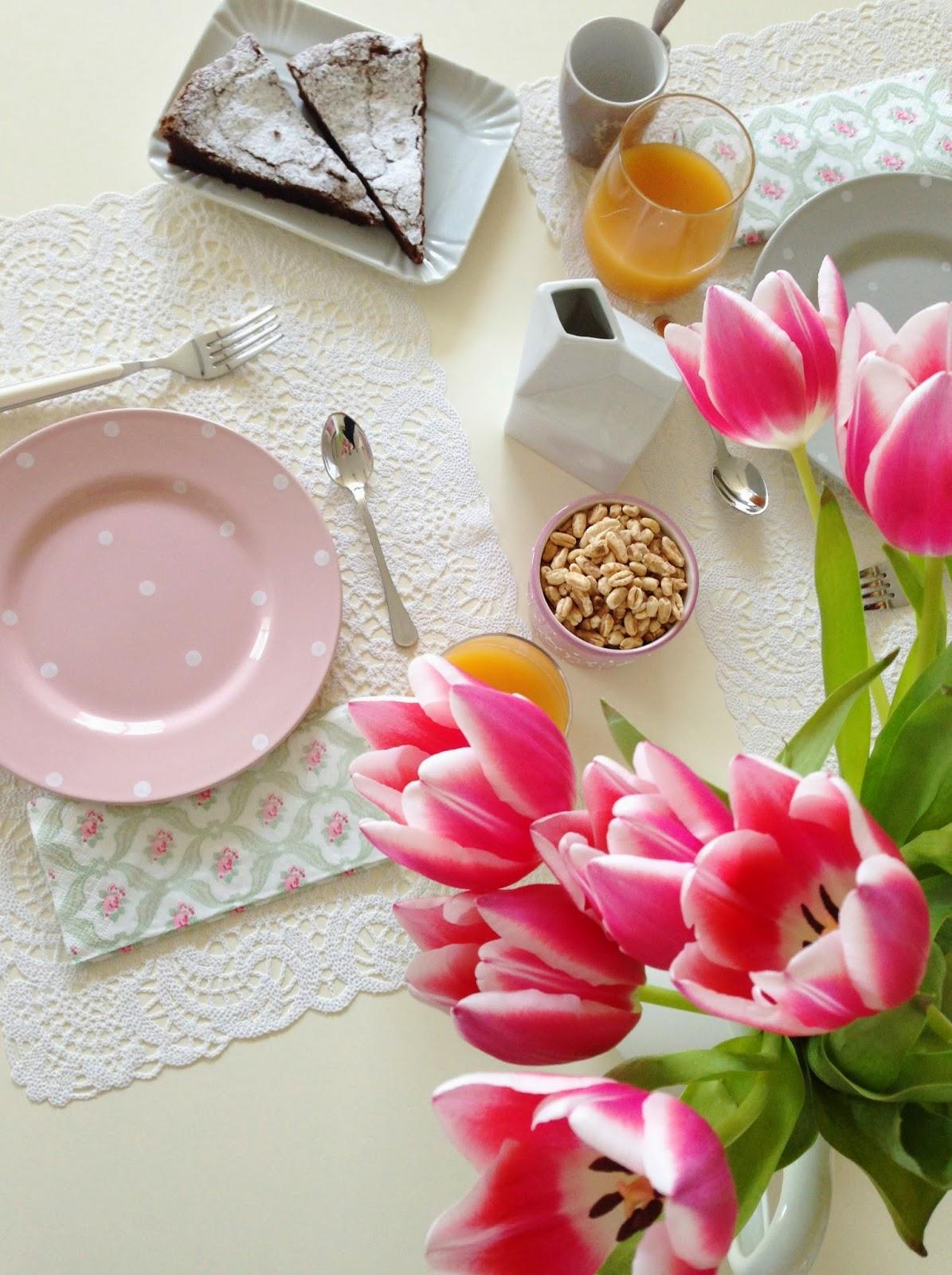 tulipani a colazione