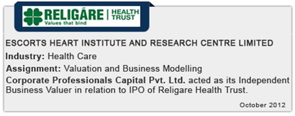 Fortis sponsored Religare Health trust lists on Singapore Exchange