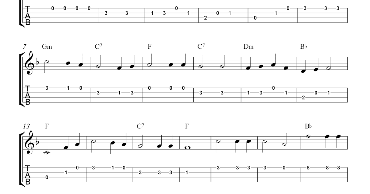 Waltzing Matilda Guitar Chords