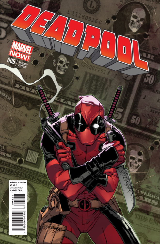 Deadpool #5 comes out ...