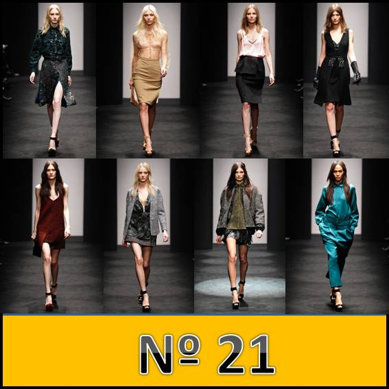 N 21 Miln Fashion Week 2012 - 2013
