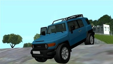 Of GTA  San Andreas  You Can Try Out The New Toyota FJ Cruiser Mod