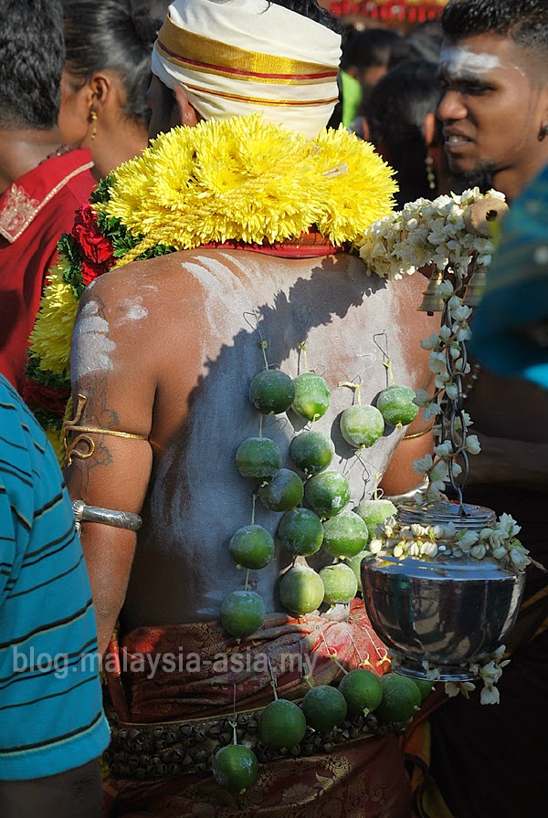 Vows for Thaipusam