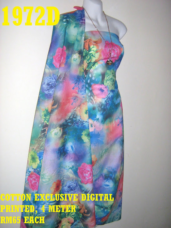 CDP 1972D: COTTON EXCLUSIVE DIGITAL PRINTED, 4 METER