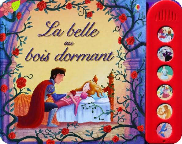 La belle au bois dormant de Katie Daynes et Ben Mantle, éditions Usborne