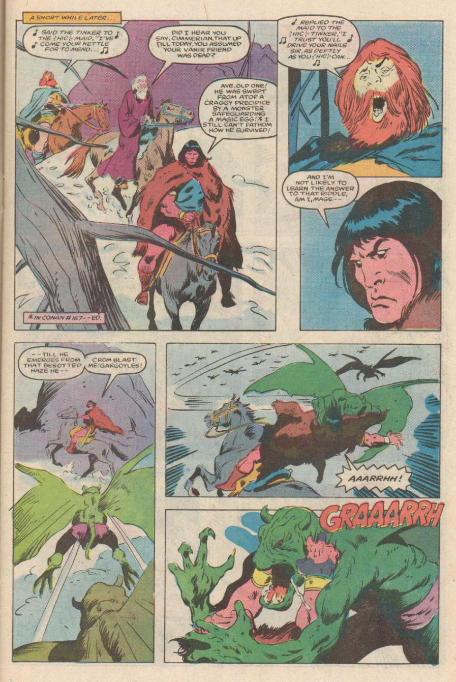 Conan the Barbarian (1970) Issue #170 #182 - English 10