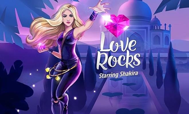 Love Rocks: el nuevo videojuego de Shakira
