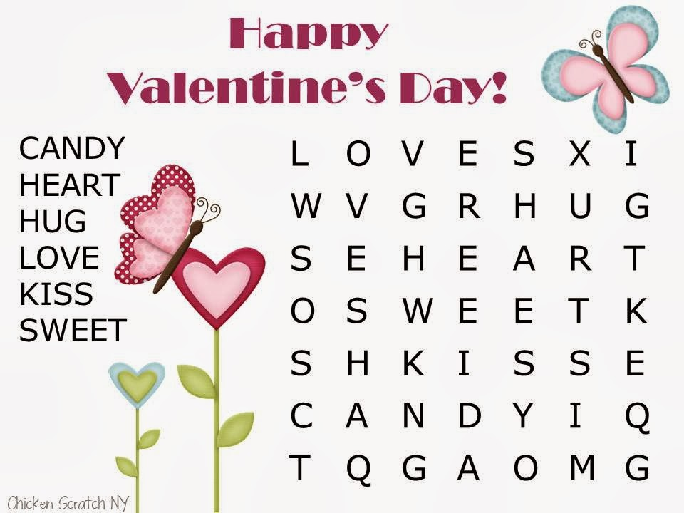 easy valentine word search 1 easy valentine word search 2