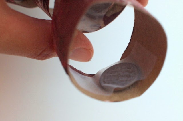 tape coins inside body parts