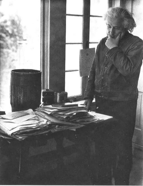 En Princeton en 1937, ante el desorden