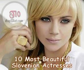 Top 10 Most Beautiful Slovenian Actresses