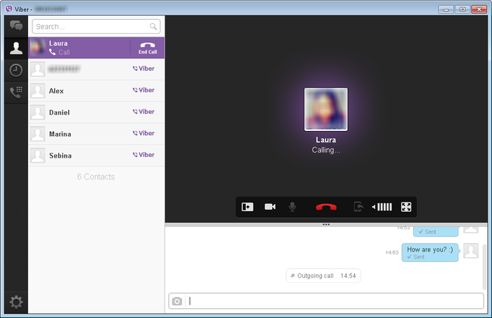 how to add account on viber desktop