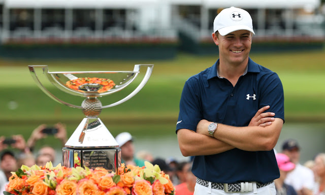 Jordan Spieth after winning $10 Million