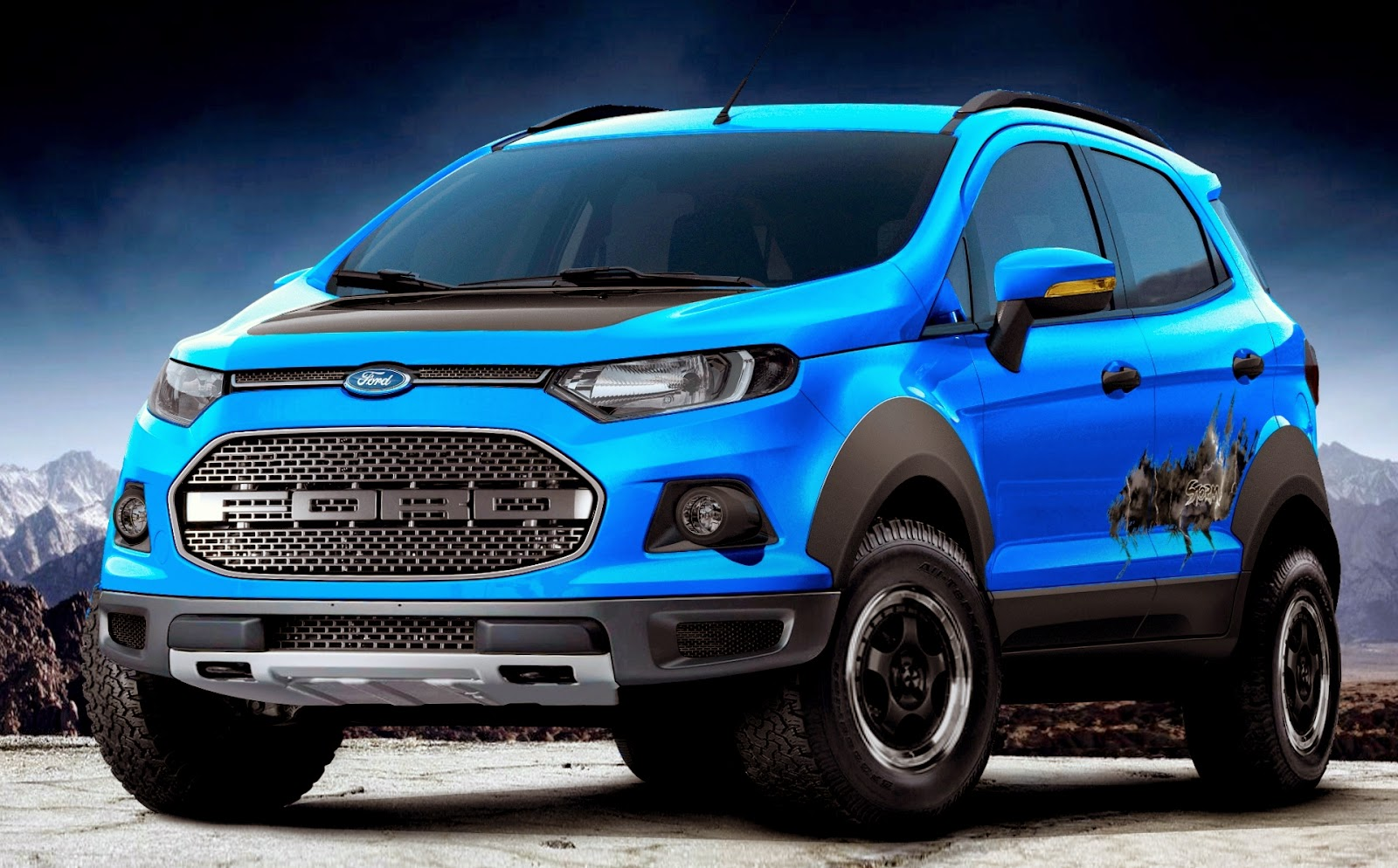 Uautoknow Net Ford Debuts Three Ecosport Compact