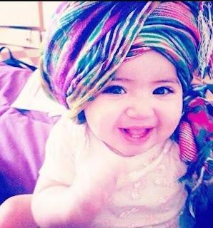Foto Gambar Bayi Perempuan Islami Lucu Imut